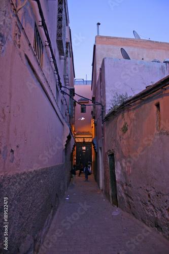 Papiers peints Ruelle etroite Marrakech Morocco