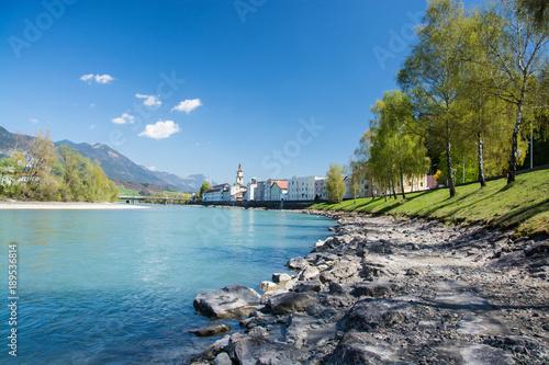 Leinwanddruck Bild Rattenberg, Tirol, Österreich