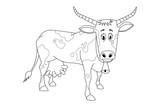 cow vector design