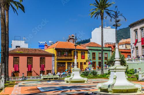La Orotava in the historic city center.