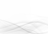 Fototapety Curve and blend gray and white abstract background 003
