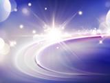 Purple light effect background - 189585414