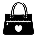 Valentinstag Icon - Tasche - 189594803