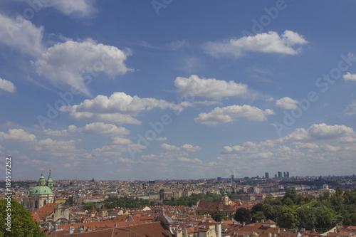 Fotobehang Praag Panoramablick auf Prag