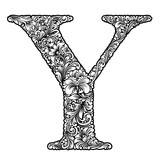 capital letter  Y - 189605834