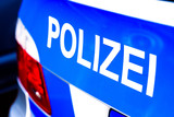 police car in germany - 189629418