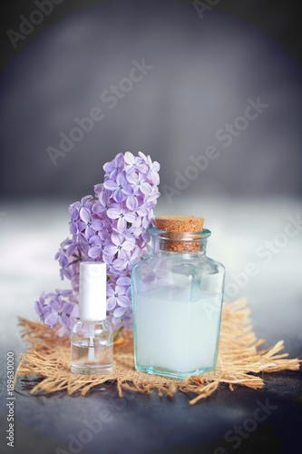 spa,fleur de lilas