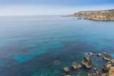Morski krajobraz nad Golden Bay, Malta  - 189658825