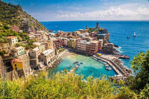 Foto op Canvas Liguria Vernazza - Cinque Terre, La Spezia, Liguria, Italy