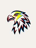 Eagle Thunder Logo, art vector design
