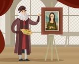 great italian artist painting - 189699203