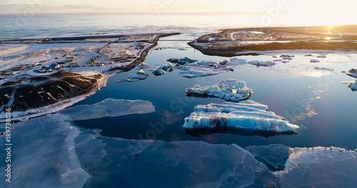 Fotobehang Antarctica paysage de banquise