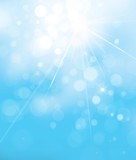 Vector blue lights  background. Sky background. - 189743256
