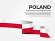 Poland flag background - 189743436