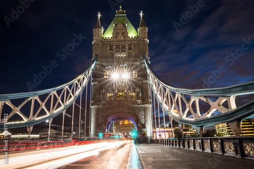 Keuken foto achterwand London Tower Bridge In London