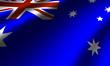 Authentic Australia flag