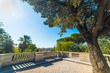 Pincio terrace under a shining sun