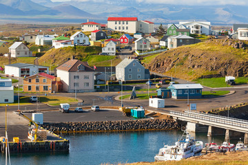 Stykkisholmur, the western part of Iceland