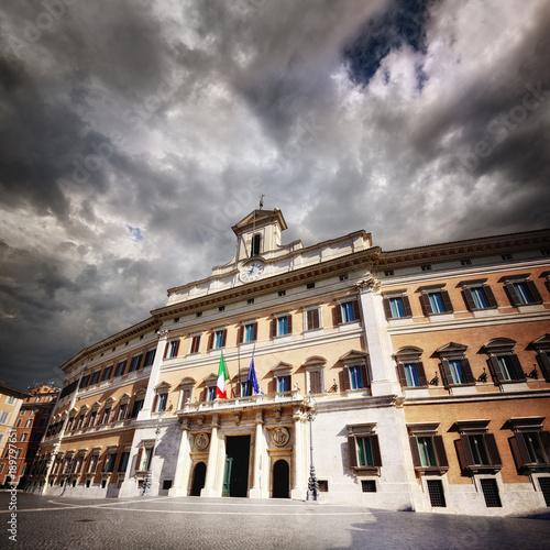 Deurstickers Rome Montecitorio, Camera dei Deputati, Roma