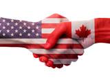 USA Canada Handshake - 189798063