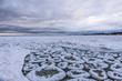 Ice Rafts on Lake Michigan