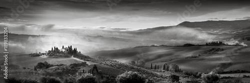Staande foto Toscane Val d'Orcia - Italie