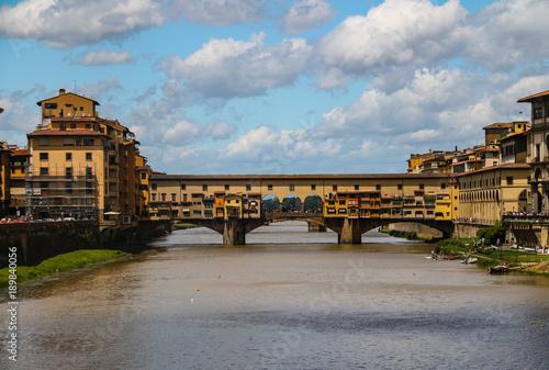 Staande foto Florence ponte vecchio