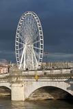 Crue de la Seine au pont de la Concorde à Paris