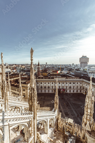 Foto op Canvas Milan Views of Milano