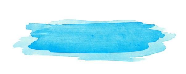Watercolor brush stroke isolated © Dmitri Stalnuhhin