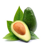 Avocado fruits .