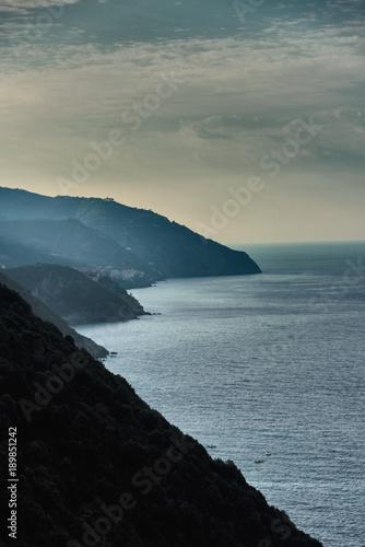 Poster Liguria Impressionen aus Italien - Küste von Ligurien