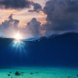 Sea water aquatic background - 189868661
