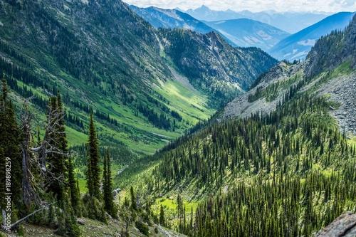 Keuken foto achterwand Groen blauw Whitewater Canyon