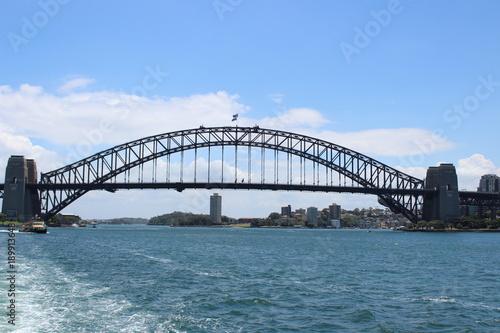 Foto op Canvas Sydney Sydney Harbour Bridge . Sydney . Australia