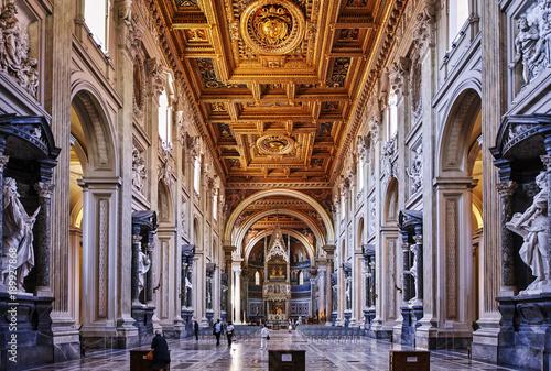 Deurstickers Rome Erzbasilika von San Giovanni in Lateran Rom Italien