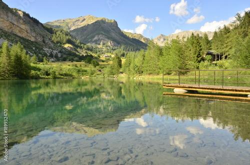 Foto op Canvas Pistache lac d'estenc