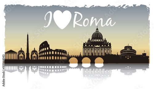 roma puesta de sol