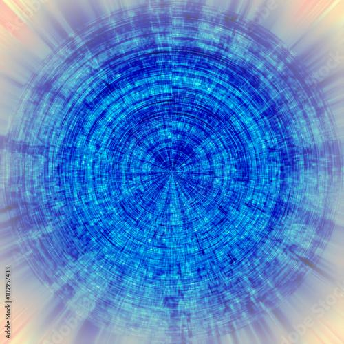 Fotobehang Abstractie blue texture