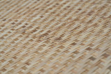 close up rice-winnowing basket made  form bamboo for background.