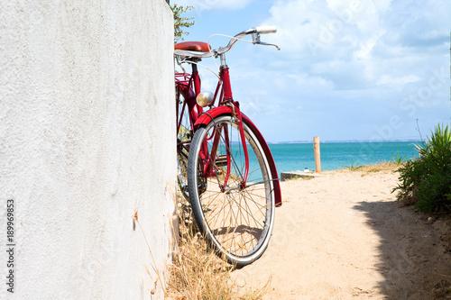 Fotobehang Fiets France > Vendée > Noirmoutier > Vélo