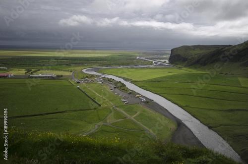 Foto op Canvas Donkergrijs ICELAND