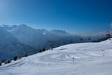 Fototapeta Fototapety góry  - Lift in Passo del Tonale © Oldrich