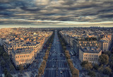 Champs-Elysee avenue in Paris