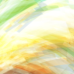 Abstract green, yellow and orange background. Vector graphic pattern