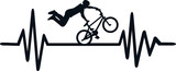 BMX heartbeat line