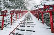 冬の京都 貴船神社