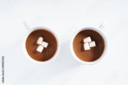 Fotobehang Chocolade hot chocolate