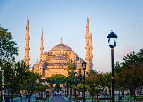 Foto Murales Hagia Sophia in Istanbul Turkey