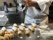 Making of french bignè - 190056432